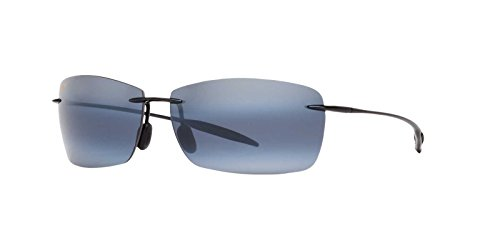 Maui Jim Unisex Lighthouse Gloss Black/Neutral Grey One ()