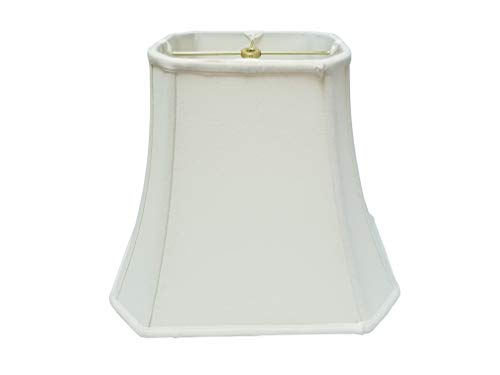 - Royal Designs Rectangle Cut Corner Lamp Shade, White, (6 x 8) x (9 x 14) x 10.5