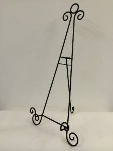 Large Plate Stand Display Large Black Iron Easel 41 inch Holder Display Artwork Picture 23 & Large Plate Stand Display 41 best Display Stands images on Pinterest ...