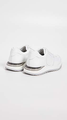 brooklyn06980 Salvatore Sneakers Bianco Pelle Brooklyn Uomo Ferragamo Eu xTTzXqwP