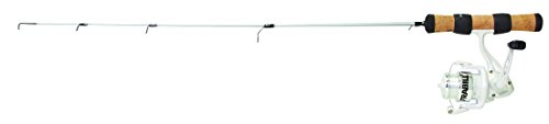Frabill Njord Spinning Reel Fishing Combo, Black, 28-Inch/Medium