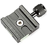 neewer-aluminium-50mm-quick-release-plate-qr-clamp-3-8-inch-with-1-4-inch-adapter-and-built-in-bubbl