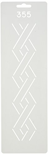 Quilting Creations Border Design Quilt Stencil, 2