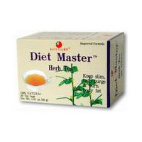 Herb Master Tea Diet (HEALTH KING MEDICINAL TEAS TEA,DIET MASTER, 20 BAG, 3 pack)