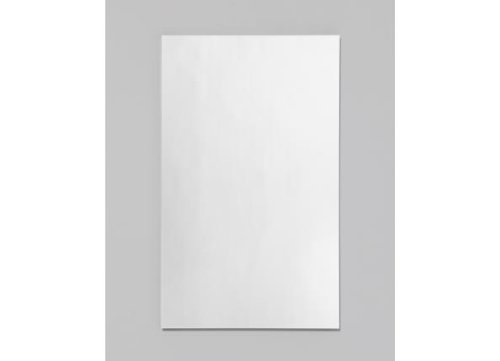 Robern RC1626D4FP1 R3 Series Single Door Mirrored Medicine Cabinet with Plain Door, Plain