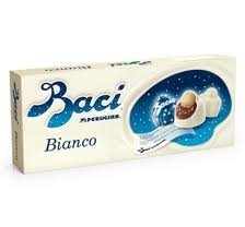 Perugina Baci Chocolate Gift Box (Baci Bianco Perugina, 12 Packages With Each 143 Grams In One Box, Original From Italy)