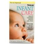 TwinLabs infantile Soins Multi Vitamin (1x1.7 OZ)
