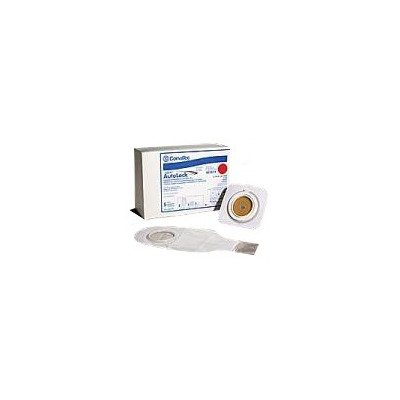 MCK16974900 - Convatec Post-Op Ostomy Pouch Kit Natura Durahesive ConvaTec Moldable Technology Two-Piece System 12 Inch 7/8 to 1-1/4 Inch Stoma Opening InvisiClose Tail Closure System Mold-to-Fit
