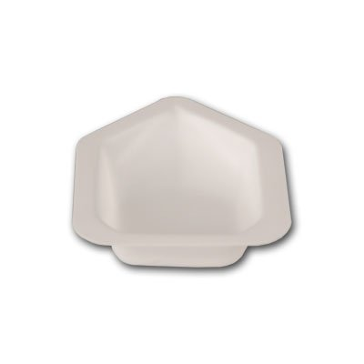 ZIEIS | 600 Pack | Small Anti-Static Weigh Boats | Canoe Pour Spout | Polystyrene | ZWB-SPS-600PK | Capacity: 0.34oz (10ml) | Unit Weight: 0.7g | Stackable | Contaminant-Free | Biologically Inert | Heat resistant up to 200F