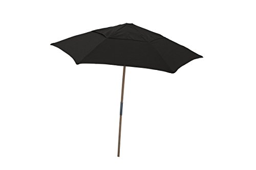 Fiberbuilt 7.5 ft. Wood Beach Umbrella with Spun Acrylic Canopy (Beach Fiberbuilt Umbrella)