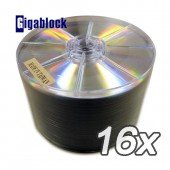 300pcs Gigablock DVD+R 16x 4.7GB 120Min Silver Top for Copy Duplication by Gigablock