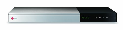 LG BP740 3D Blu-ray Player (WLAN, Smart TV, DLNA, HDMI, Ultra HD Upscaling, LAN, USB) schwarz/silber