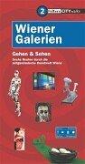 Paperback Wiener Galerien. Gehen und Sehen. [German] Book