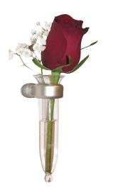 THE AMAZING ANYWHERE VASE, CAR VASE, FLOWER VASE - Our Anywhere Vase attaches to any smooth surface, allowing you to have flowers with you in your car, home, office or locker. (Vase Measures)