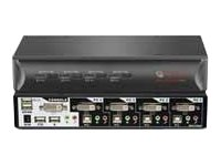 switchview dvi 4-port kvm switch by Avocent