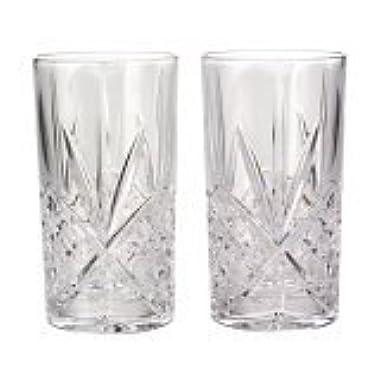 Godinger Dublin Crystal Set of 12 High Balls