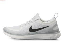 quality design 33cba 50d84 NIKE Men s Free RN Distance 2 Running Shoe (8.5 D(M) US, White Black-Pure  Platinum)