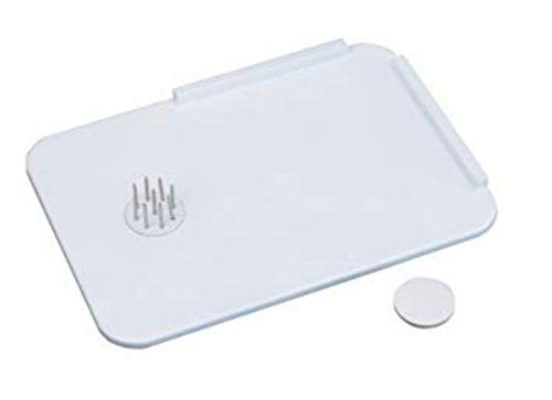 - Homecraft Plastic Spread Board with Spikes, Food Tray with L Shaped Corner and Optional Stainless Steel Spikes Hold Food in Place While Cutting and Spreading, Kitchen Aid for Limited Use of One Hand