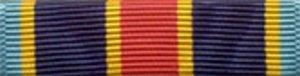 Marine Corps Ribbon (Navy/Marine Corps Overseas Service Ribbon)