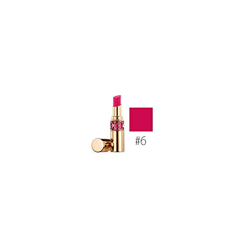 Yves Saint Laurent Rouge Volupte Shine Oil In Stick, No. 6 Pink In Devotion, 0.15 Ounce