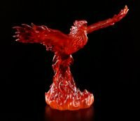 8 Inch Phoenix Rising Flaming Winged Bird Decorative Statue Figurine