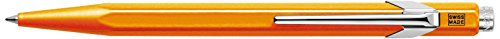 CREATIVE ART MATERIALS Caran D'ache Ballpoint Pen Metal Fluor Orange (849.030) ()