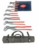 Cobra Pliers Set (KNIPEX 8701000-X Ultimate Cobra Pliers 7pc. Set with Pouch)