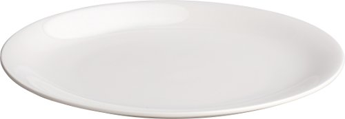 """Alessi""""All-Time"""" Side Plates in Bone China , White"""