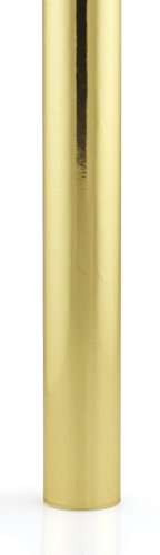 Hygloss Products Metallic Foil Paper - Premium Gift Wrap Roll - 26 Inch x 25 Feet, -