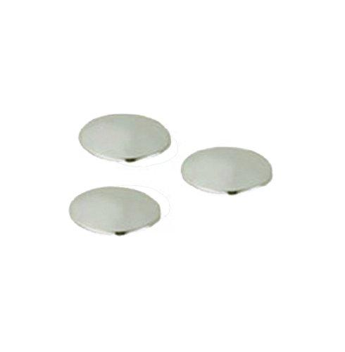 Grohe 45 953 AV0 Geneva Caps for Geneva Cross Handles, Lift Rods, and Diverter Tub Spouts, Infinity Satin ()