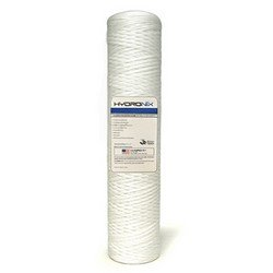 Hydronix SWC-45-20100 String Wound Filter 4.5'' OD X 20'' Length, 100 Micron by Hydronix