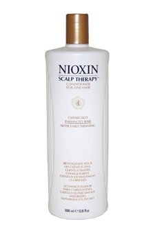 Noticeably Thin (NIOXIN System for Scalp Therapy Cond. for Fine Chem. Enh. Noticeably Thin Hair Unisex Conditioner, 4.2 Ounce)