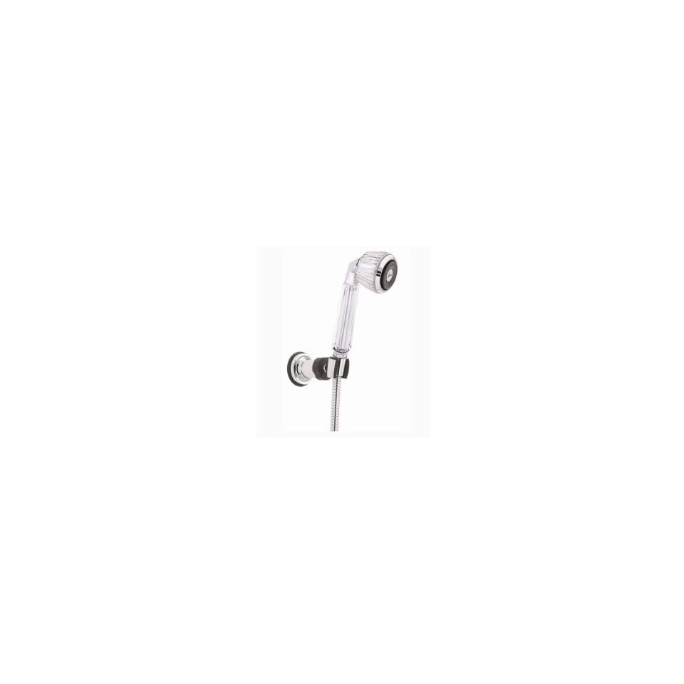 Alsons Deluxe Adjustable Spray Wall Mounted Hand Shower Unit, Chrome