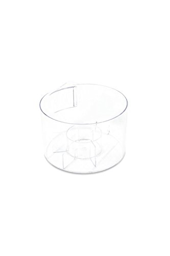 Dyson Replacement clear bin for your Dyson robot Part no. 966607-01 Compatible with Dyson 360 Eye robot (Sprayed Nickel/Fuschia), Dyson 360 Eye robot (Sprayed Nickel/Blue)