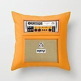 Busy Deals New Retro Orange Guitar Electric Amp Amplifier Iphone ? Pillowcase Home Decoration pillowcase covers