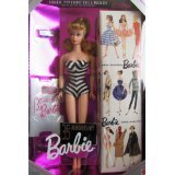 Barbie 35th Anniversary DOLL Special Edition REPRODUCTION of ORIGINAL 1959 DOLL & Package (1993 BLONDE Hair)