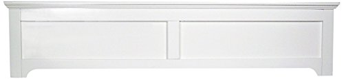 Carolina Furniture Works Panel Footboard, Queen, White by Carolina Furniture Works