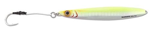 SHIMANO Butterfly Flat-Side Fishing Jig, 168G, Chart Silver