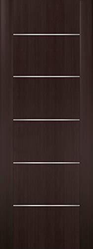 Barn Door Slab 36in x 80in | Planum 0030 Brown Wenge | Pantry Kitchen Pocket Sliding Closet Door | Solid Wood Core…