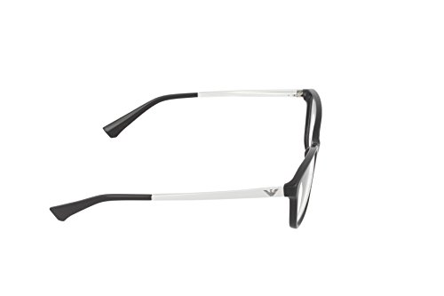 ... Emporio Armani Montures de lunettes 3026 Pour Femme Black, 52mm 5017   Black 788b472fab89
