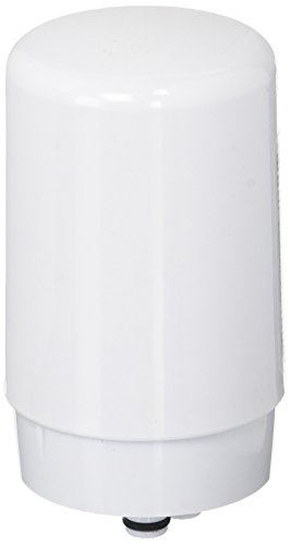 (Brita Tap Water Filter, Water Filtration System Replacement Filters For Faucets, Reduces Lead, BPA Free - White, 1 Count)