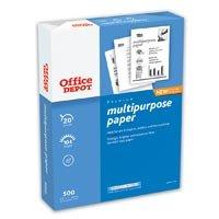244491 Part# 244491 Multipurpose Copy Paper Let 20lb 104Br 500/Pk from Office Depot