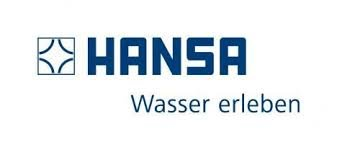 Hansa single-lever mixer for use with bidet Hansadesigno 5173 chrome-plated 51733278