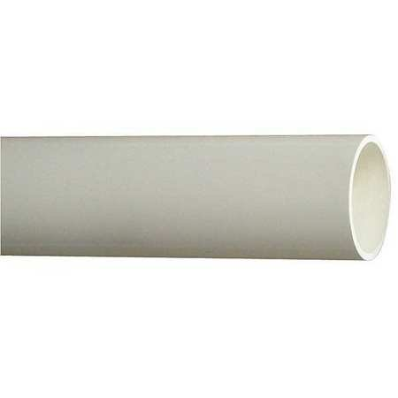 Pipe, Schedule 40, 6 In, 10 ft. Length, PVC