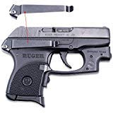 ClipDraw Concealed Gun Belt Clip for Ruger LCP Black
