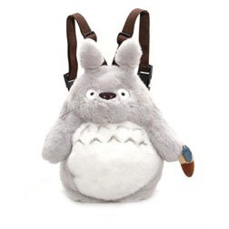 My Neighbor Totoro - Large Totoro Backpack (Gray) by Sun Arrow