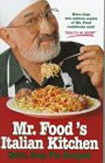 Mr foods good times good food cookbook art ginsburg mr foods italian kitchen forumfinder Gallery