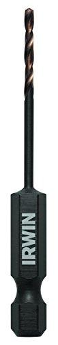 64 Bit Drill Turbomax (IRWIN Tools 1871046 Impact Performance Series 5/64-Inch Turbomax Black and Gold Drill Bit Bulk, 12-Pack)