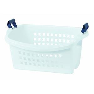 Rubbermaid 292800-WHT Stack'N Sort Laundry Basket