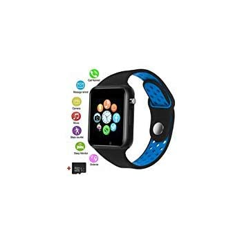 Smart Watches, JACSSO Touch Screen Bluetooth Smartwatch with Camera, Android Smart Watch/Sport Smart Wrist Watch Compatible Android Samsung LG Phones iOS ...
